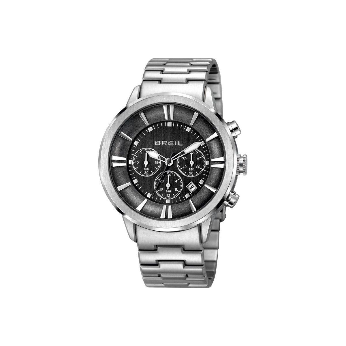 Orologio cronografo Deep con quadrante antracite con dettagli silver. Pensato per un uomo dalla personalità intensa e penetrante