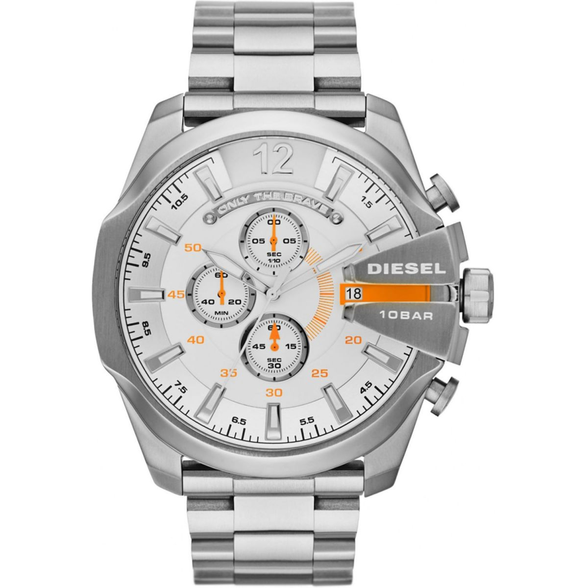 Orologio Diesel Mega Chief DZ4328 Cronografo in acciaio