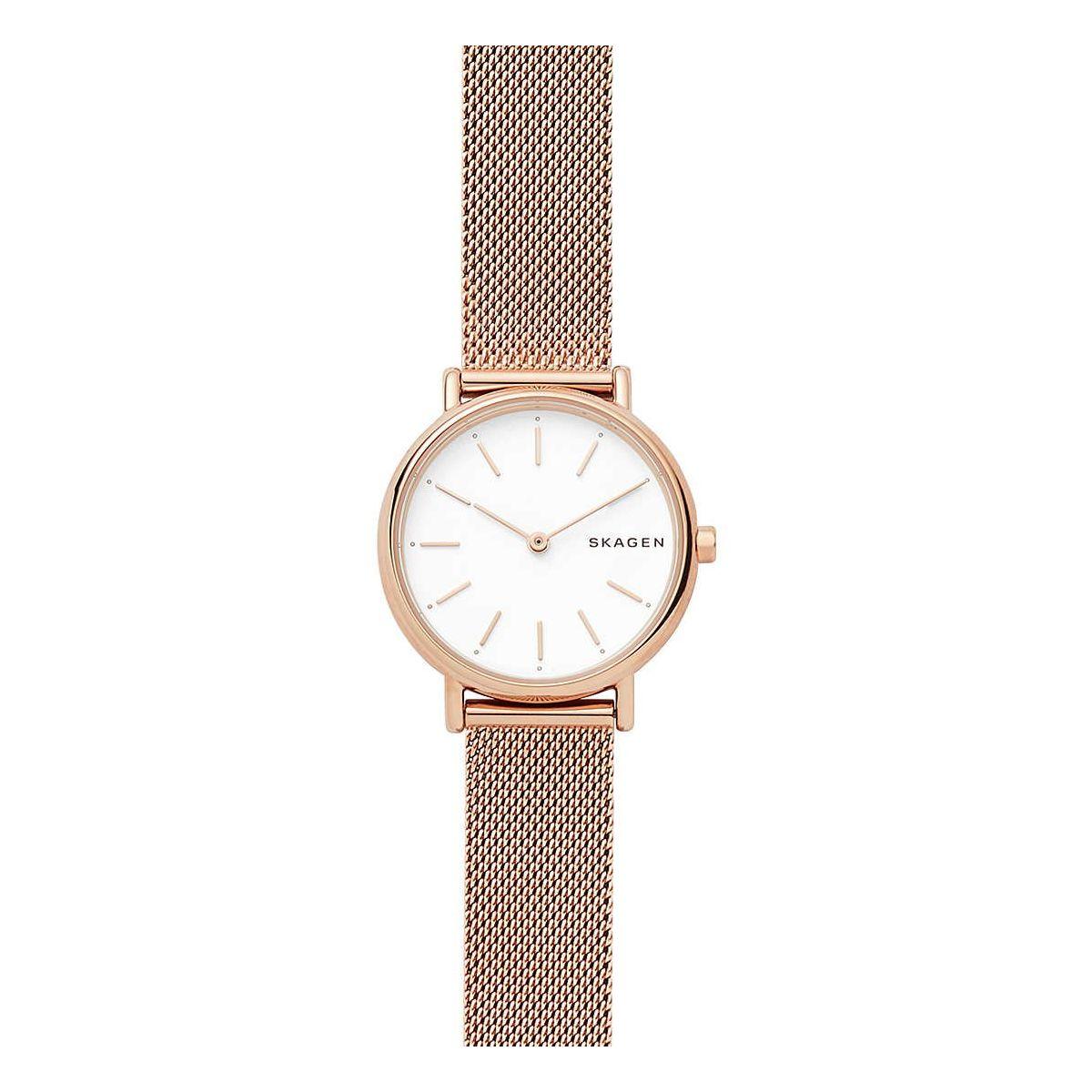 Orologio da Donna Skagen Signatur Slim SKW2694in Acciaio oro rosa