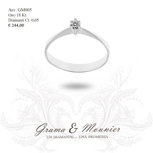 Anello in oro 18Kt Grama&Mounier Art.GM005