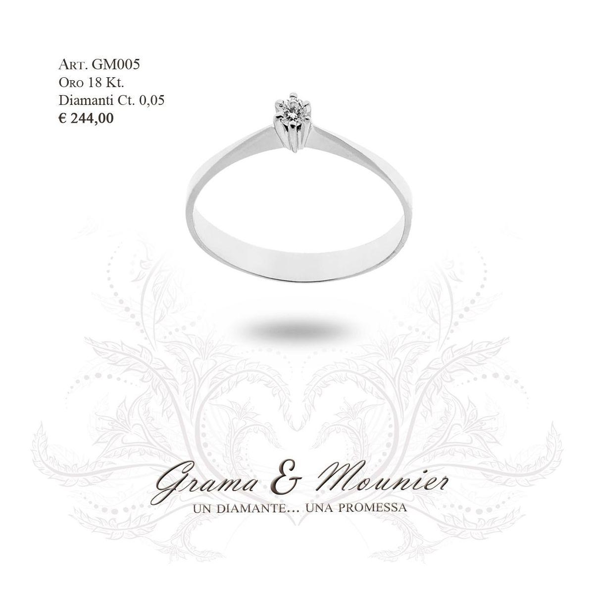 Anello in oro 18Kt Grama&Mounier Art.GM005