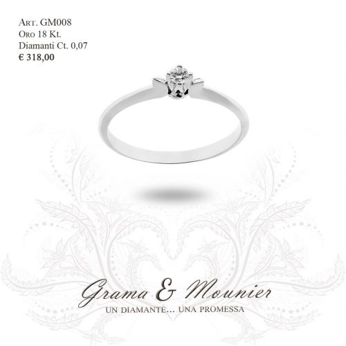 Anello in oro 18Kt. Grama&Mounier Art.GM008