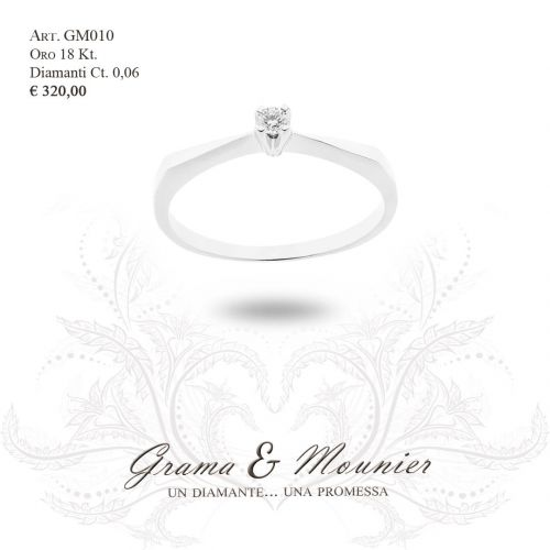 Anello in oro 18Kt. Grama&Mounier Art.GM010