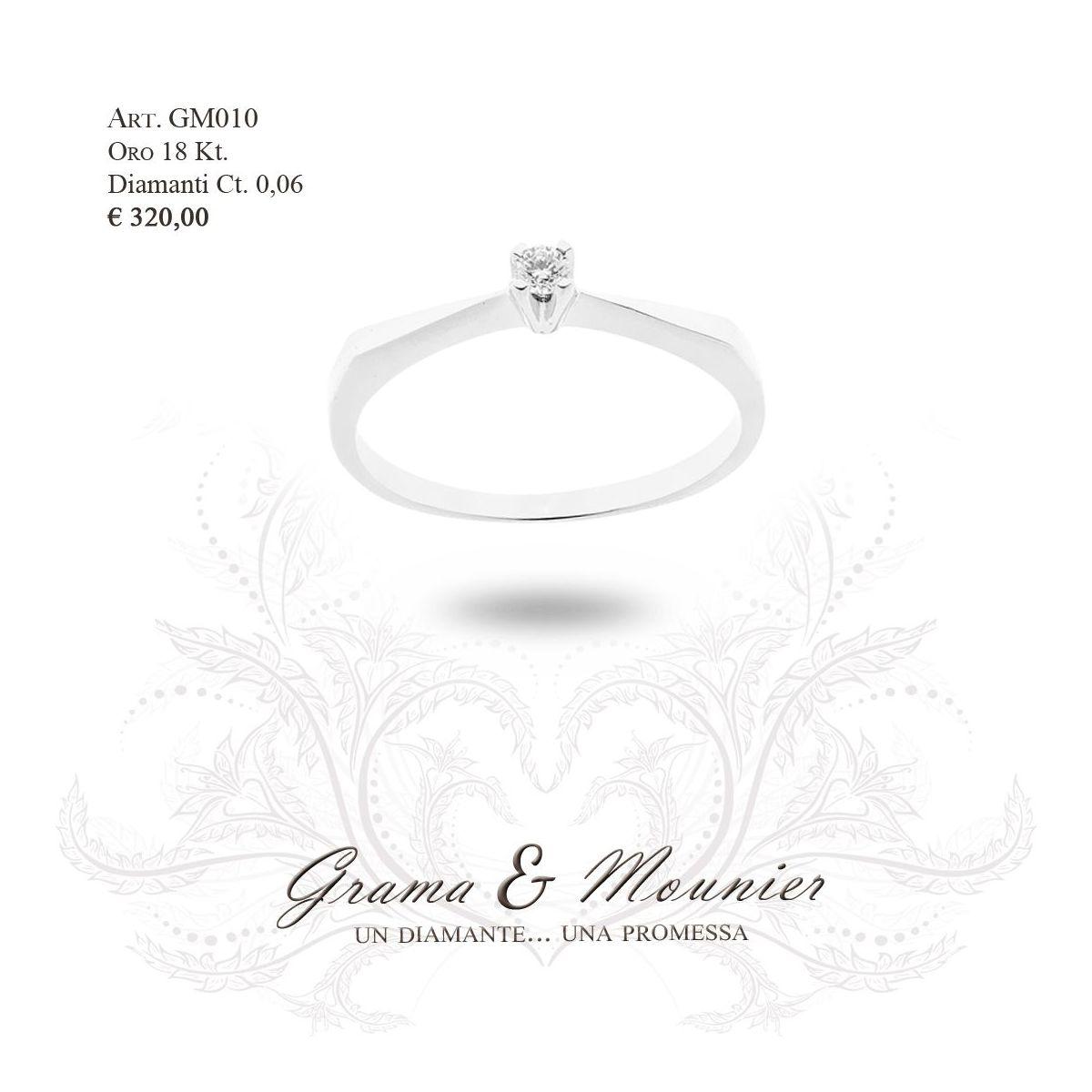 Anello in oro 18Kt. Grama&Mounier Art.GM010