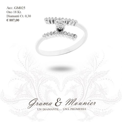 Anello in oro 18Kt Grama&Mounier Art.GM025