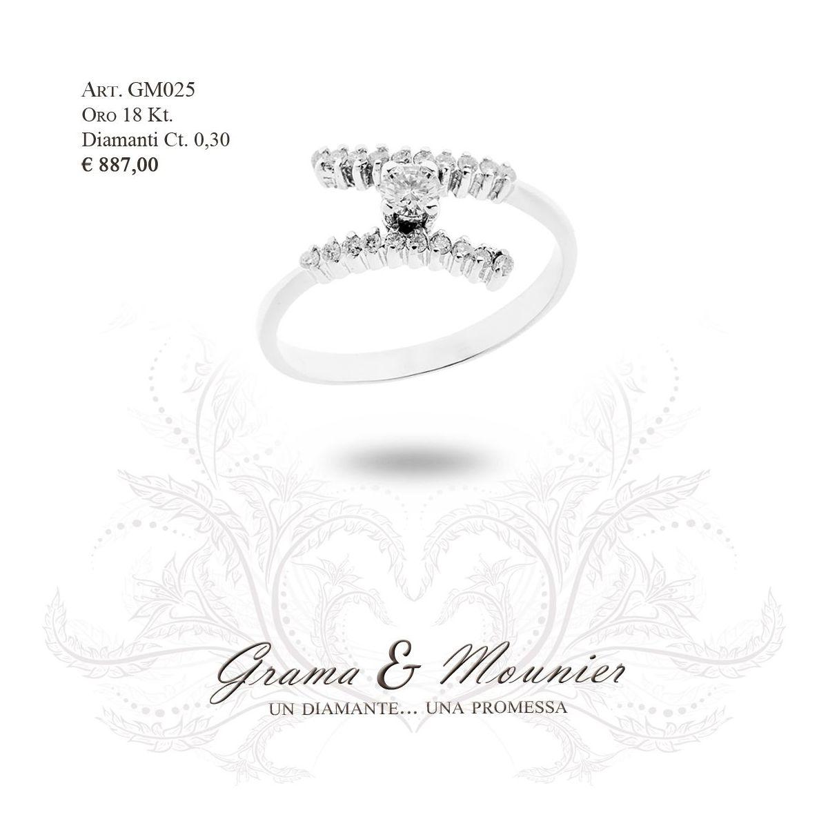 Anello in oro 18Kt Grama&Mounier Art.GM025