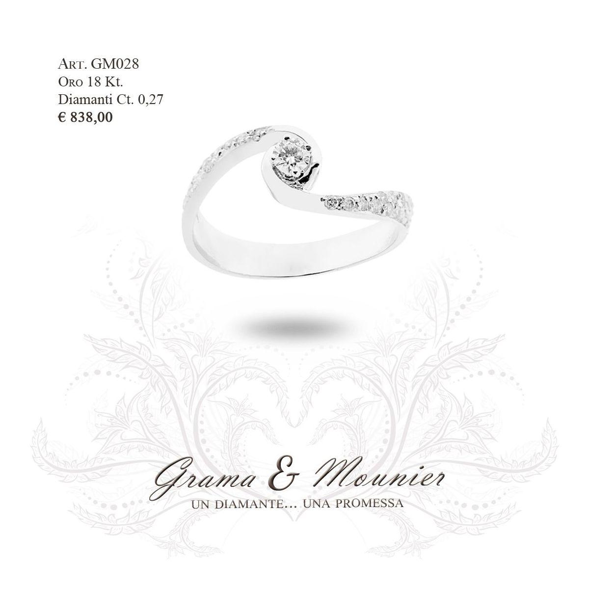 Anello in oro 18Kt. Grama&Mounier Art.GM028
