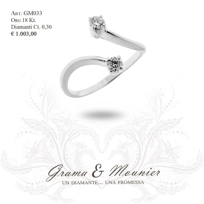 Anello in oro 18Kt Grama&Mounier Art.GM033