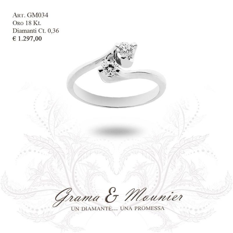 Anello in oro 18Kt Grama&Mounier Art.GM034