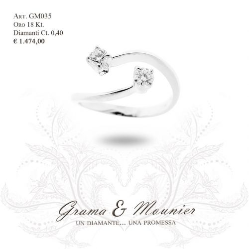 Anello in oro 18Kt Grama&Mounier Art.GM035