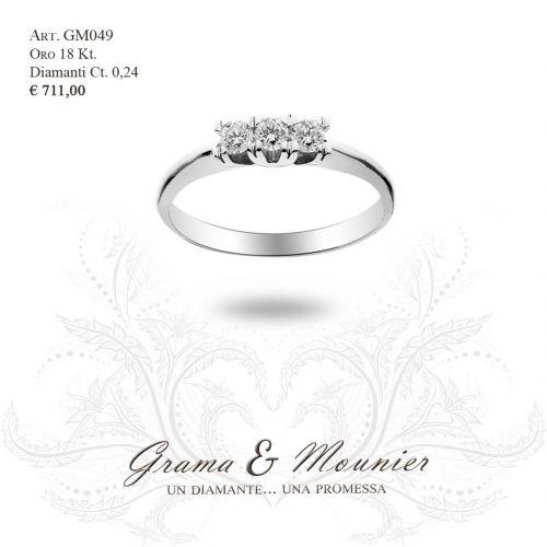 Anello in oro 18Kt. Grama&Mounier Art.GM049
