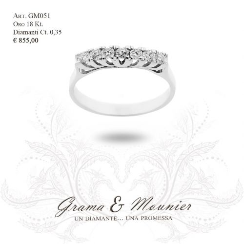 Anello in oro 18Kt Grama&Mounier Art.GM051