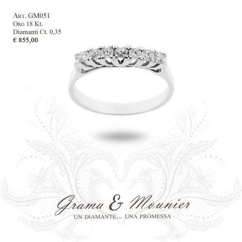 Anello in oro 18Kt Grama&Mounier Art.GM051