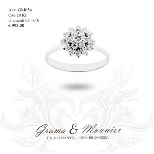 Anello in oro 18Kt. Grama&Mounier Art.GM054