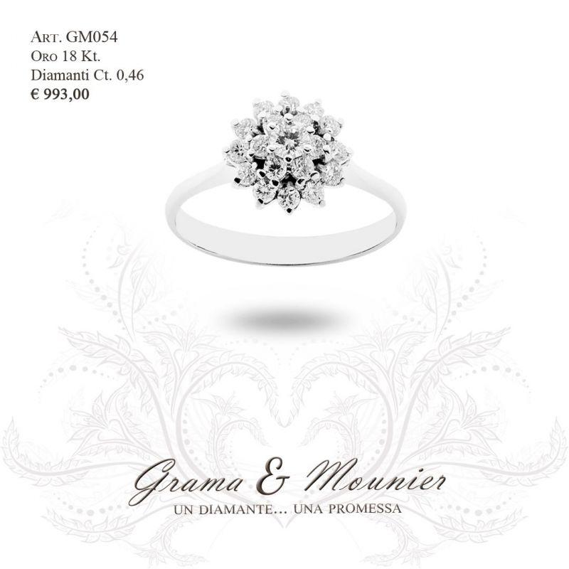 Anello in oro 18Kt Grama&Mounier Art.GM054