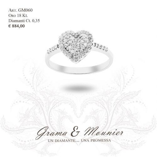 Anello in oro 18Kt. Grama&Mounier Art.GM060