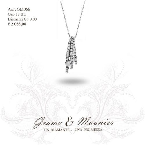 Collana in oro 18Kt. Grama&Mounier Art.GM066