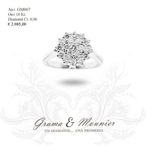 Anello in oro 18Kt. Grama&Mounier Art.GM067