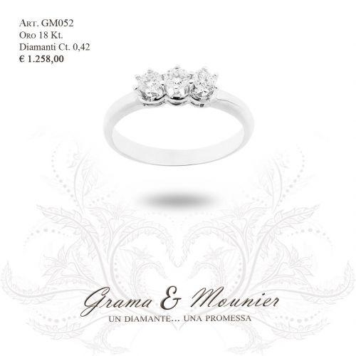 Anello in oro 18Kt. Grama&Mounier Art.GM052