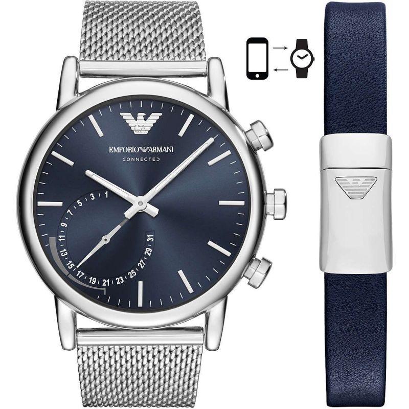Orologio Smartwatch Emporio Armani Luigi ART9003 con Bracciale in Maglia Mesh