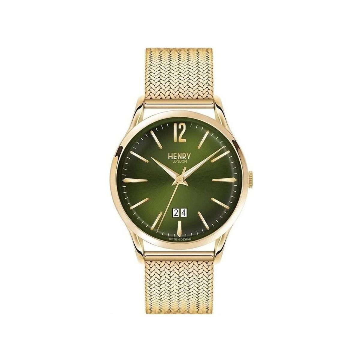 Orologio solo tempo Uomo Henry London Chiswick HL41-JM-0146