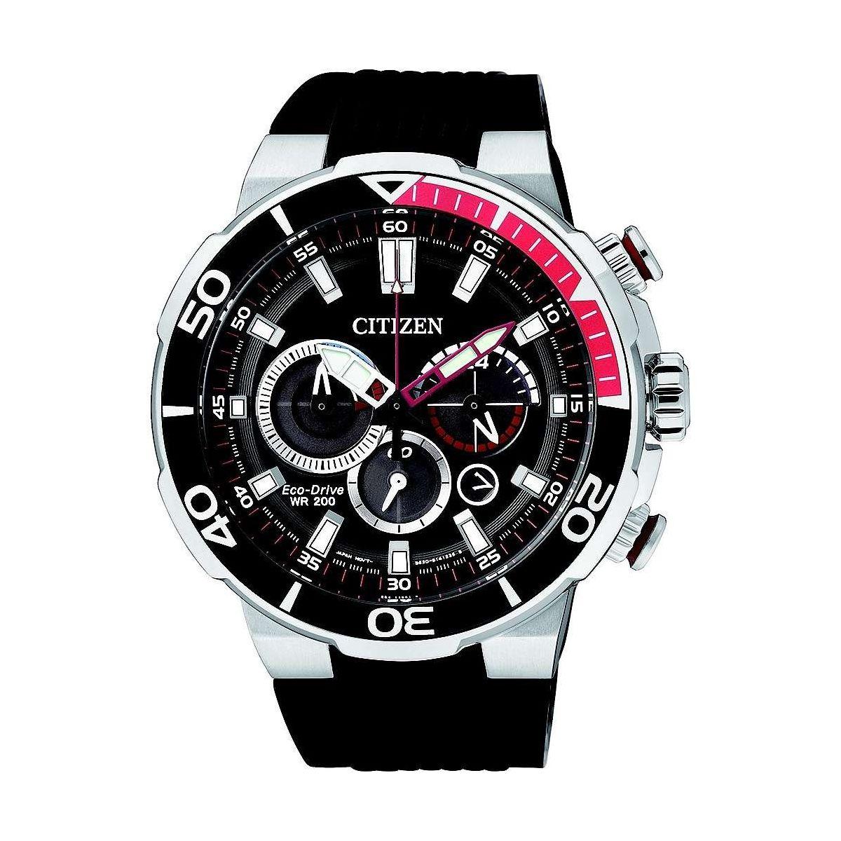 Orologio Cronografo Uomo Citizen Eco-Drive CA4250-03E