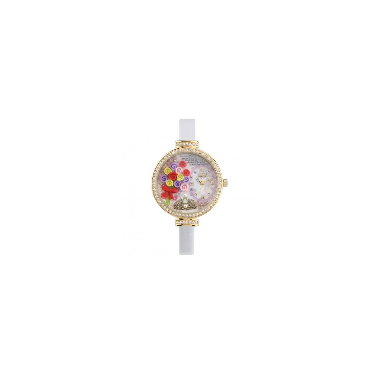OROLOGIO DONNA 3D DIDOFA' FLOWERS DF-977A