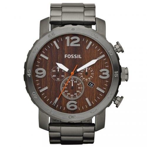 Orologio Crono Uomo Fossil Nate JR1355