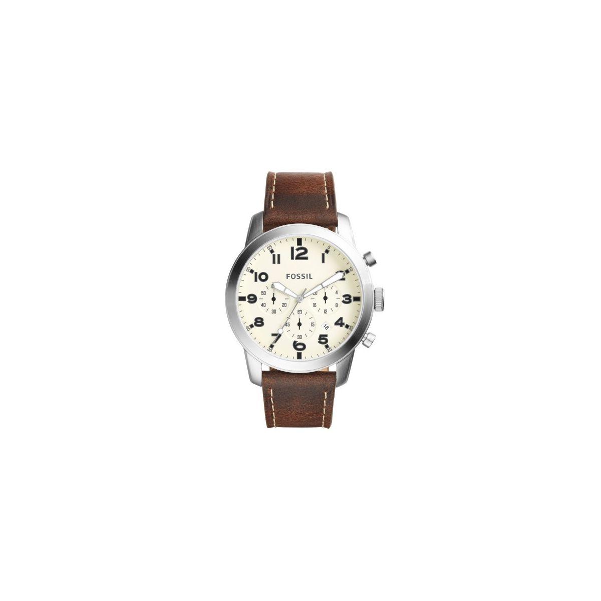 Orologio Crono Uomo Fossil 54 Pilot FS5146