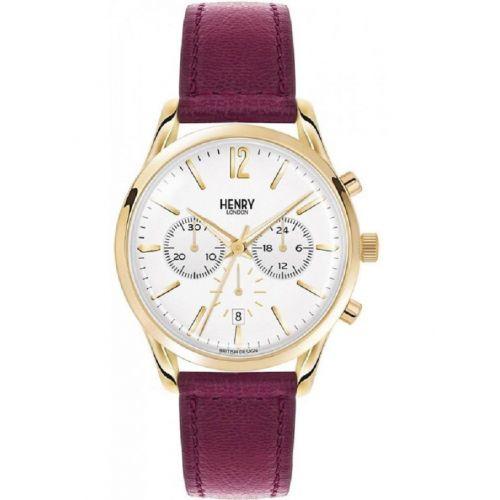 orologio cronografo uomo henry london crono HL39-CS-0070