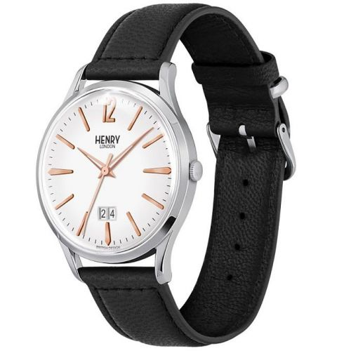 orologio solo tempo uomo henry london Highgate HL41-JS-0067