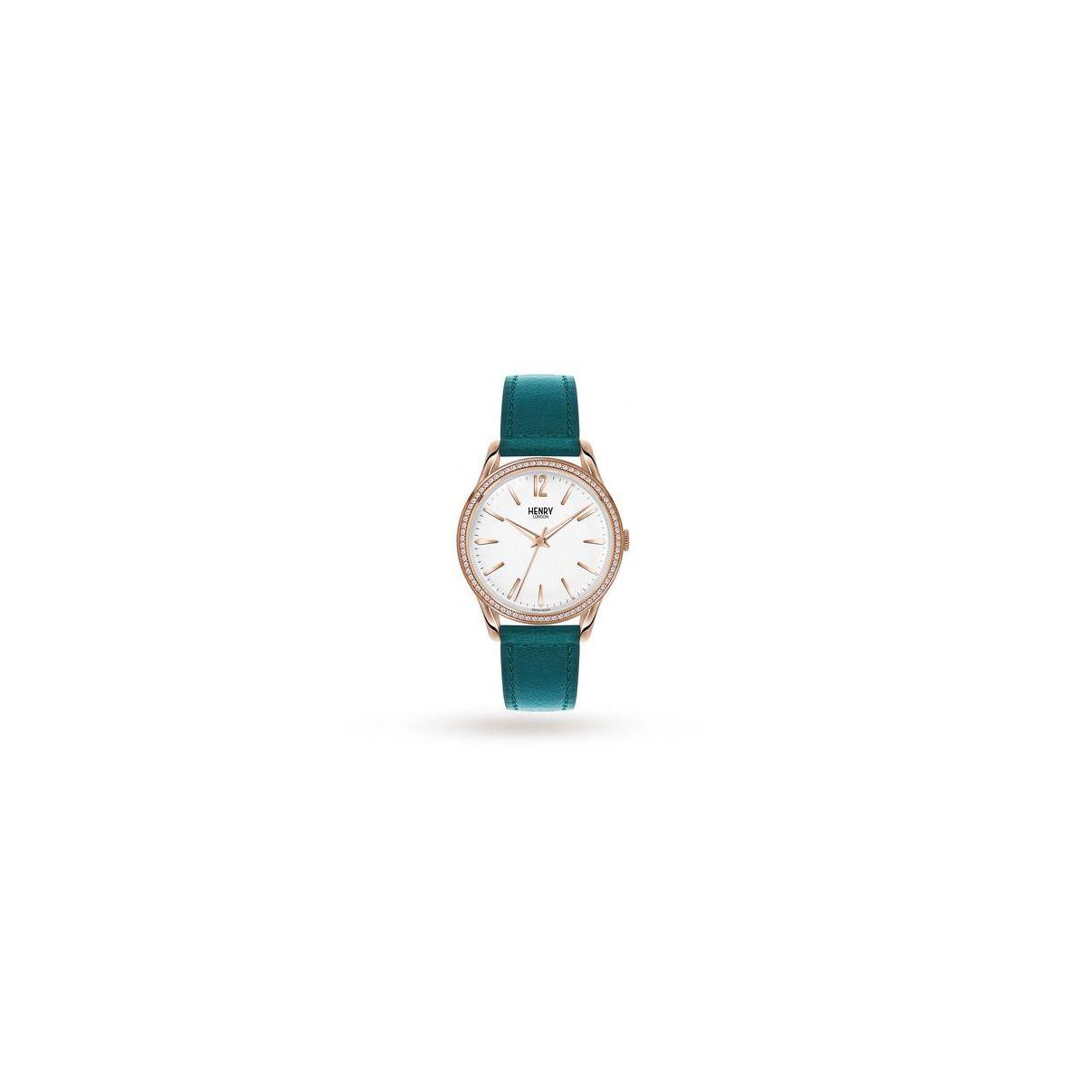 orologio solo tempo uomo henry london Stratford HL39-SS-0138