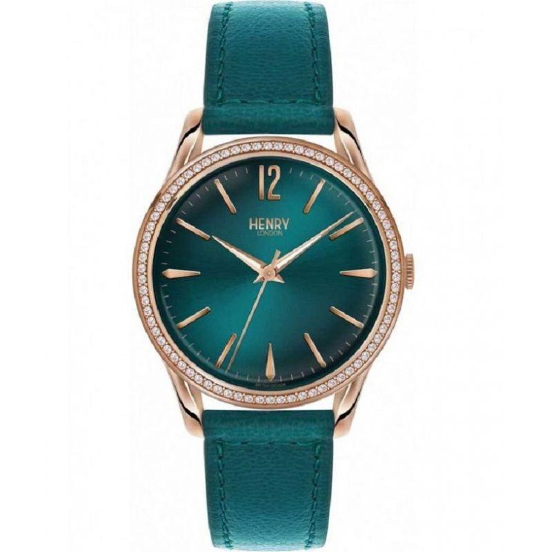 orologio solo tempo uomo henry london Stratford HL39-SS-0140