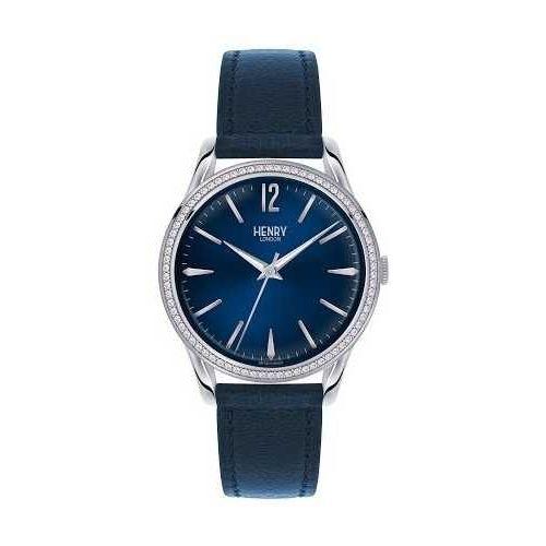 orologio solo tempo uomo henry london Knightbridge HL39-SS-0033