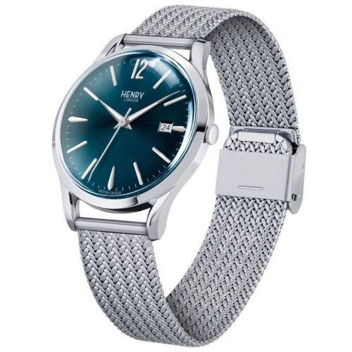 orologio solo tempo uomo henry london Knightbridge HL39-M-0029