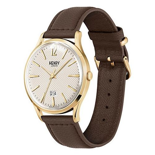 orologio solo tempo uomo henry london westminster HL41-JS-0016