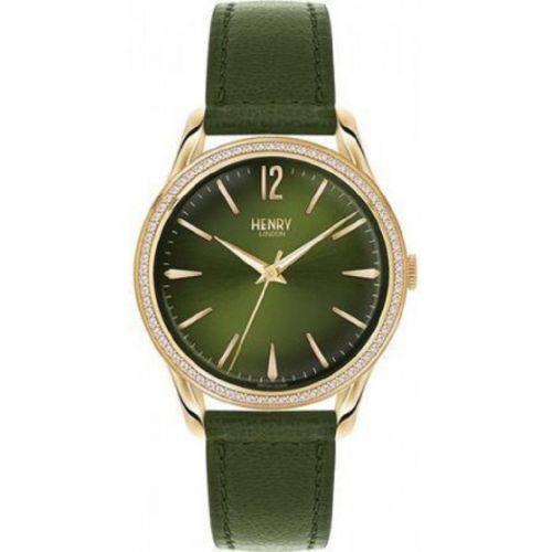 orologio solo tempo uomo henry london Chiswick HL39-SS-0104