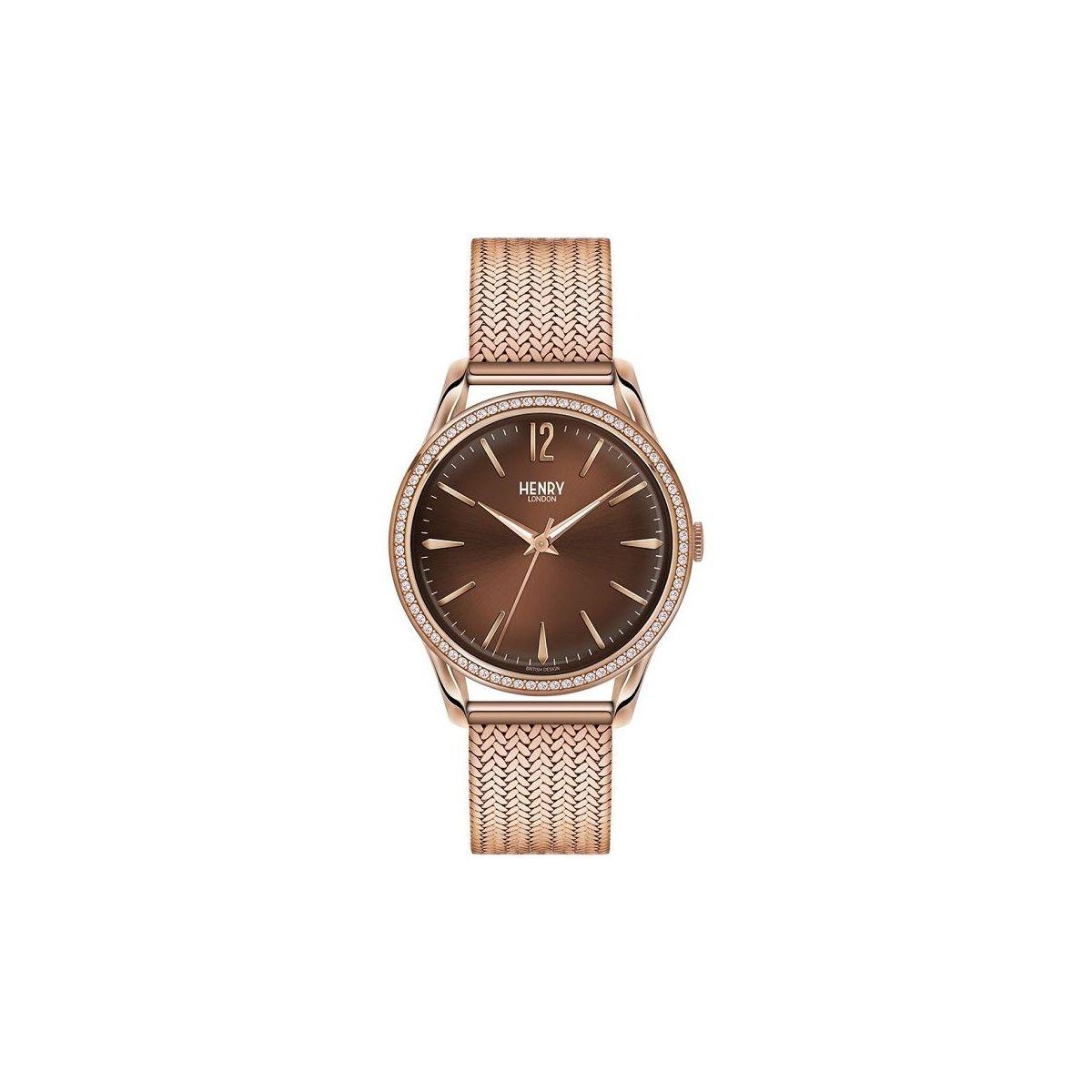 orologio solo tempo uomo henry london Harrow HL39-SM-0124