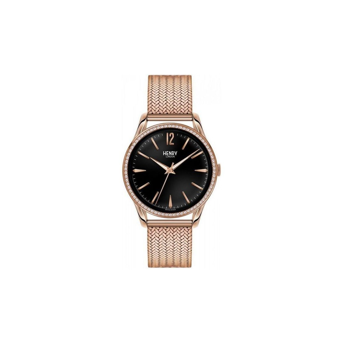 orologio solo tempo uomo henry london Richmond HL39-SM-0030