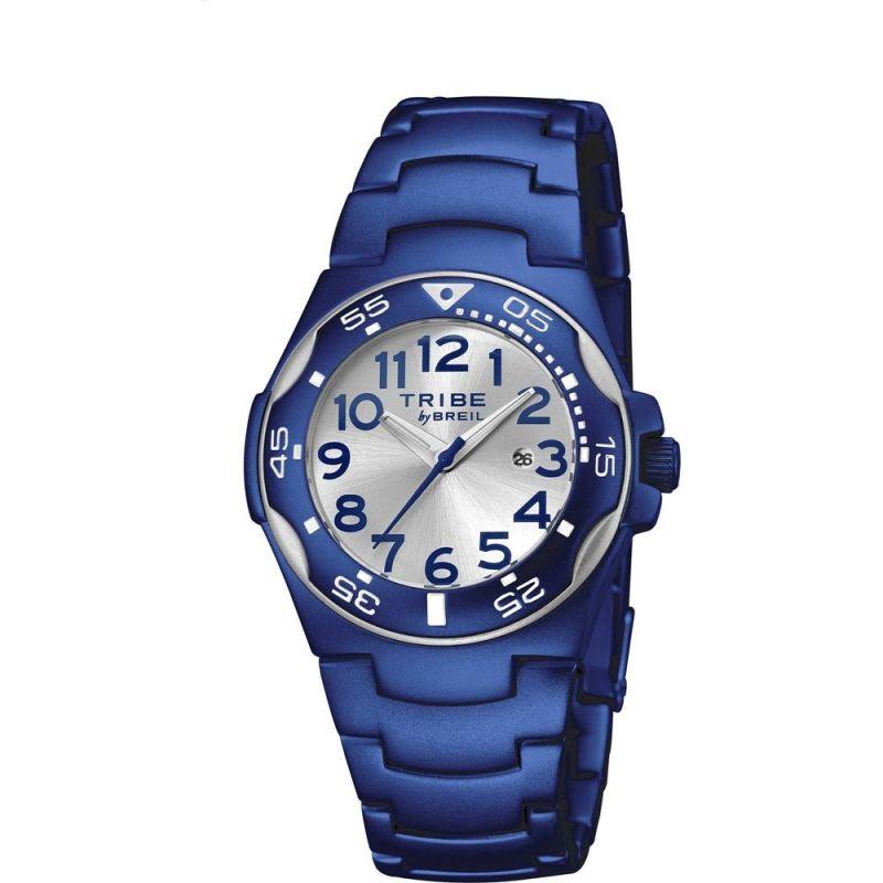 Orologio bambino blu in alluminio Breil Ice EW0185